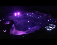 Spa Jaccuzzi led violet